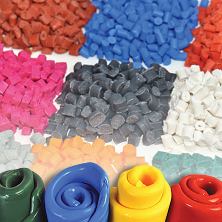 Raw material used for extrusions