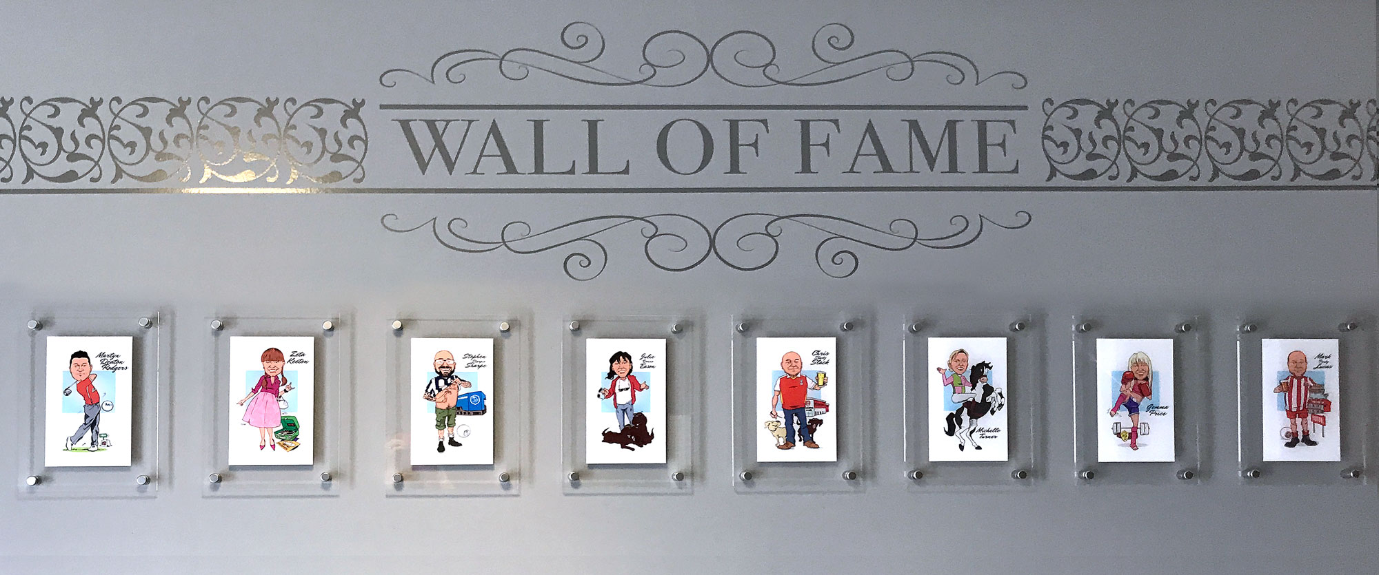 NES Wall of fame