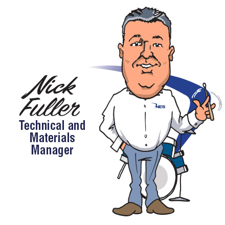 Nick Fuller - Technical and Materials Manager
